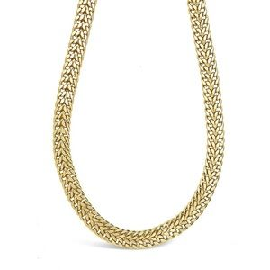 Sterling Forever Flat Link Chain